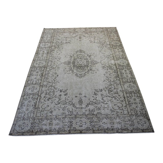 Oriental Overdyed Turkish Rug - 6′1″ × 9′8″ - Image 1 of 9