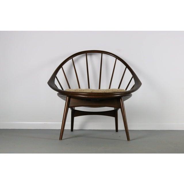 Ib Kofod-Larsen Ib Kofod-Larsen for Selig Hoop Chair - Peacock Chair, Denmark For Sale - Image 4 of 5