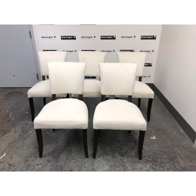 Design Plus Gallery presents a set of five Adèle Fabric Side Chairs by Restoration Hardware. Inspired by the classics...