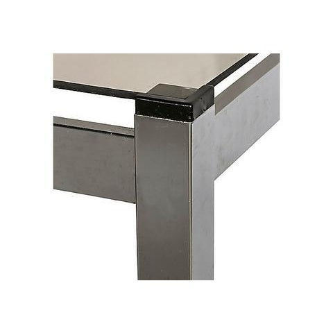 1970s Chrome Console Table For Sale - Image 5 of 6