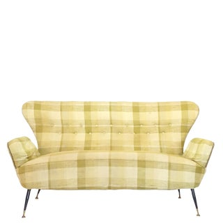 20th Century Paolo Buffa Floating Back Sofa For Sale