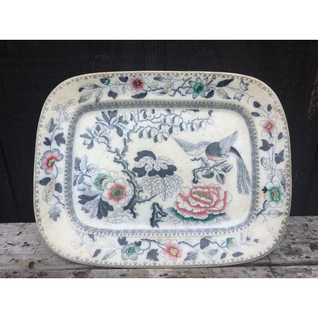 1870s Ashworth Ironstone Platter - Image 3 of 9