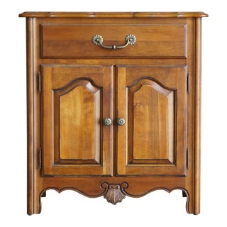 1990s Ethan Allen French Country Nightstand For Sale