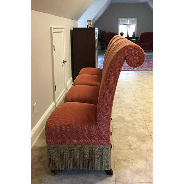 """2000 - 2009 Lillian August """"Carlyle"""" Chairs - Set of 4 For Sale - Image 5 of 10"""
