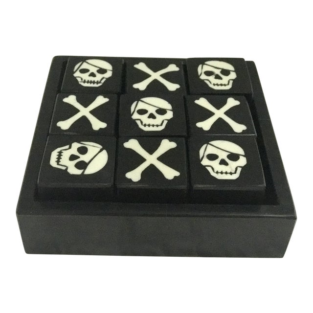 Skull & Bones Tic Tac Toe For Sale