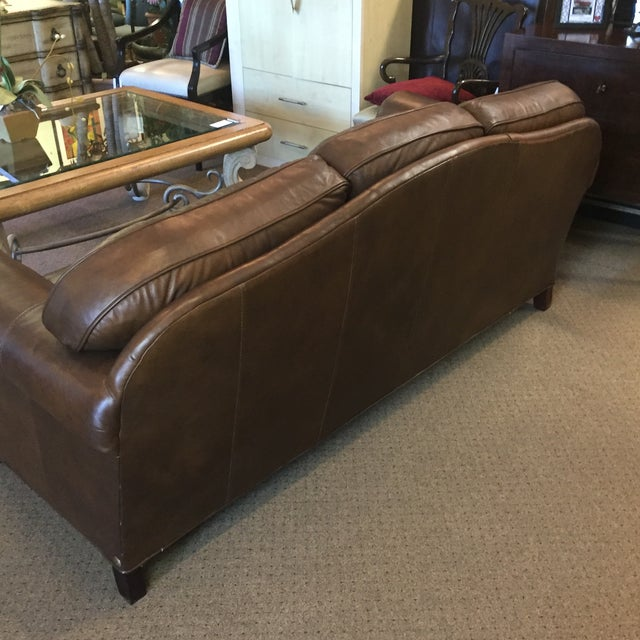 Whittemore Sherrill Leather Sofa - Image 11 of 11