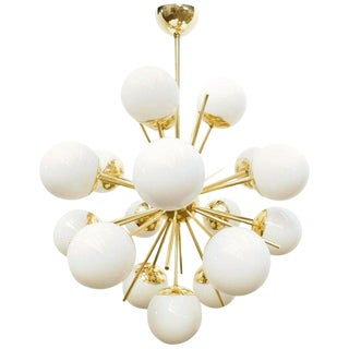 Diciotto Sputnik Chandelier by Fabio Ltd For Sale