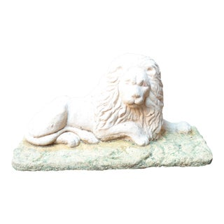 Early 20th Century Lion Garden Sculpture For Sale