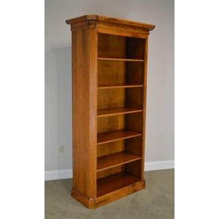 Baker Milling Road Hildebran Tall Italian Maple Open Bookcase Preview