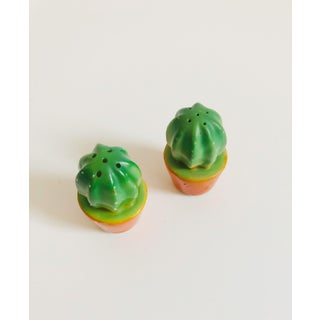 Vintage Ceramic Cactus Salt and Pepper Shakers Preview