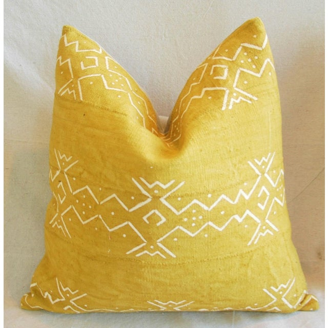 Handwoven Tribal Textile Feather/Down Pillows - Pair - Image 10 of 11