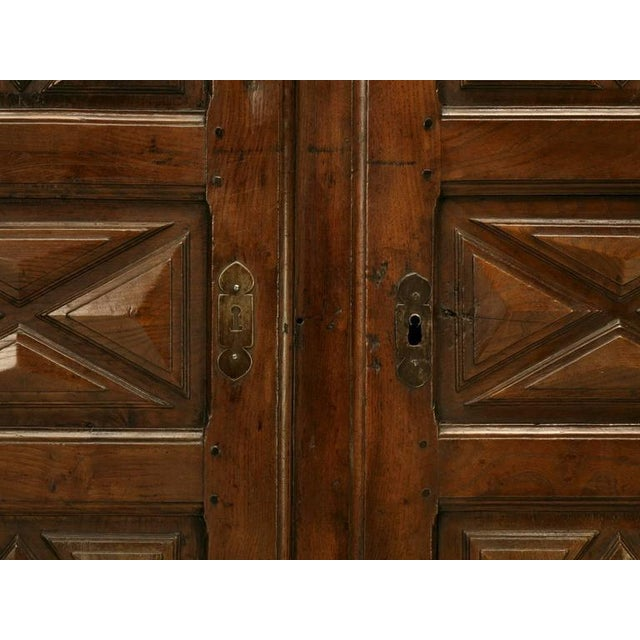 Antique French Louis XIII Style Armoire - Image 8 of 10
