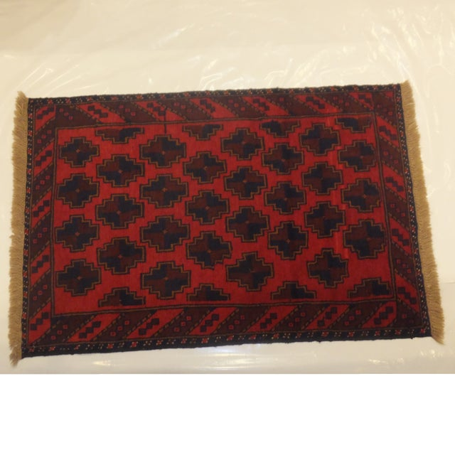 Baluch Red Rug - 3' x 5' - Image 2 of 6