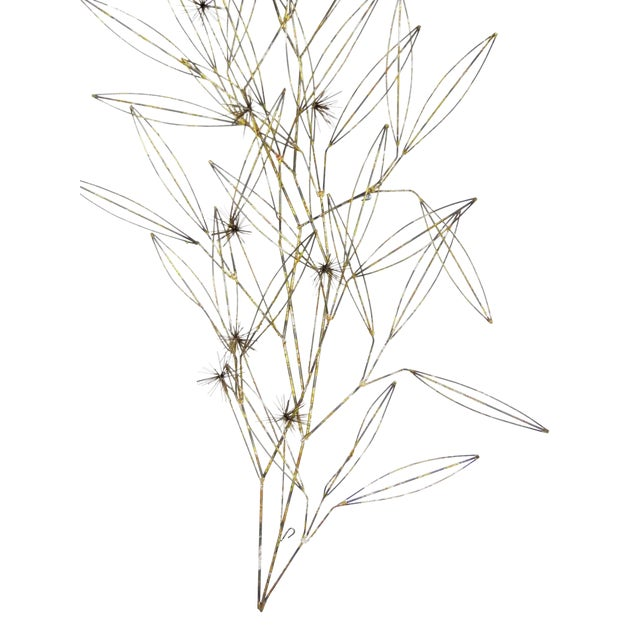C. Jere Tree Branch Blossom Wall Sculpture - Image 1 of 7