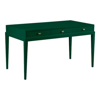 Casa Cosima Hayes Desk, Chrome Green For Sale