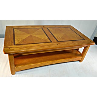 Solid Wood Country Style Coffee Table Preview