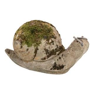 Vintage Snail Garden Ornament For Sale