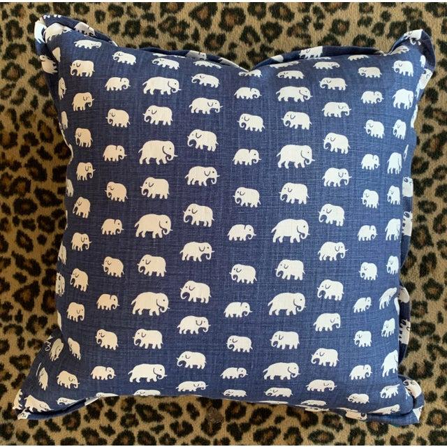 Josef Frank Josef Frank Linen Pillow For Sale - Image 4 of 4
