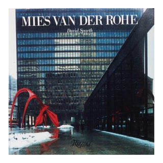 Mies Van Der Rohe Modern Architecture Book by David Spaeth