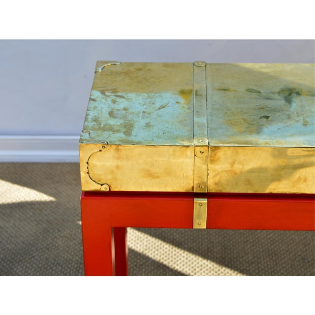 Brass Campaign Style Console - Image 5 of 11