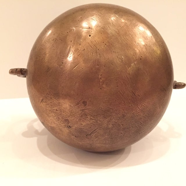16th Century Bronze Drinking Vessel For Sale - Image 4 of 8