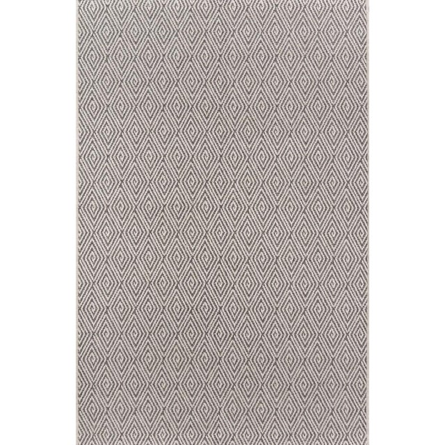 """Erin Gates Downeast Wells Charcoal Machine Made Polypropylene Area Rug 2'7"""" X 7'6"""" For Sale - Image 10 of 10"""