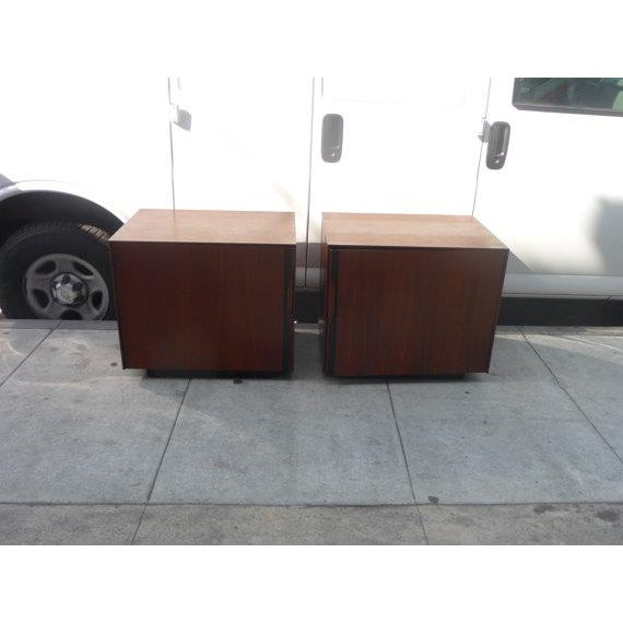 John Kapel Mid-Century Nightstands - A Pair - Image 2 of 5