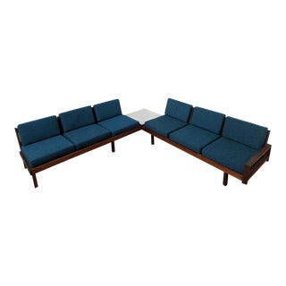 Gorgeous Mid Century Modular Sofa Set by Martin Borenstein for Brown and Saltman
