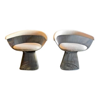 Warren Platner Chairs, Pair For Sale