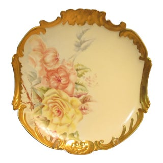 Willliam Guerin Limoges Charger Plate For Sale