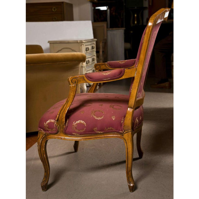 French Louis XV Style Walnut Fauteuils - A Pair For Sale In New York - Image 6 of 9