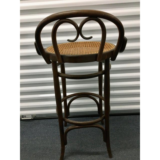 Thonet Vintage Salvatore Leone Bentwood Bistro Chair For Sale - Image 4 of 10