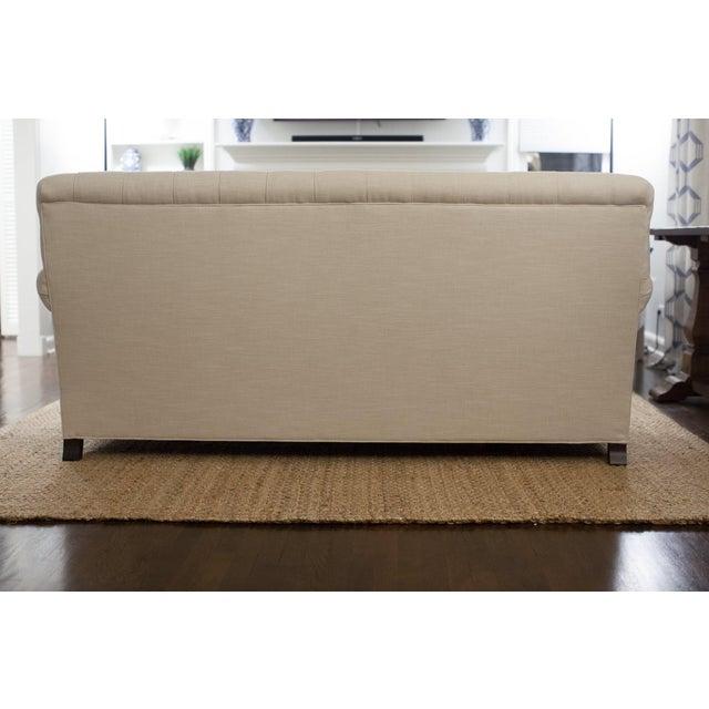 Highland House Linen Tufted Sofa - Image 5 of 8