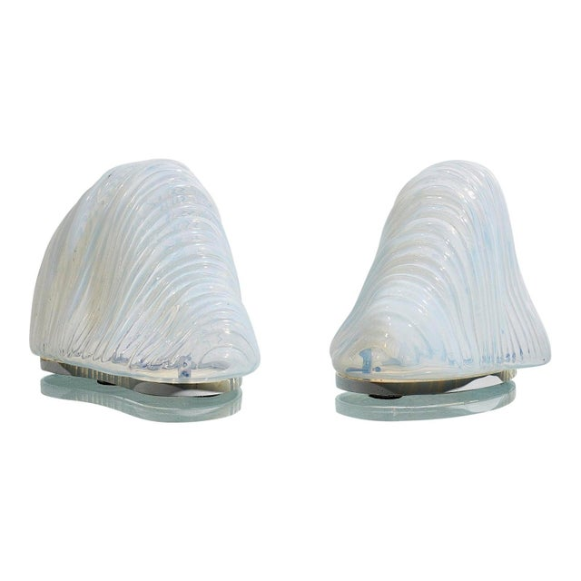 Pair of Iceberg Lamps by Carlo Nason For Sale - Image 6 of 6