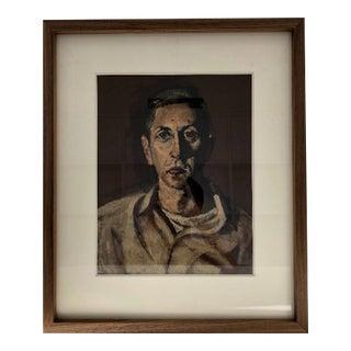 Moder Male Portrait Painting For Sale