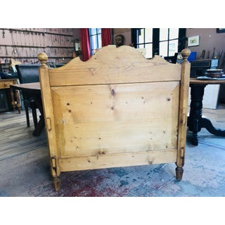 Late 19th Century, Vintage Scandinavian Pine Bed Made Into Bench Preview