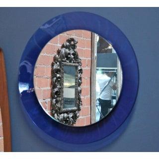 Italian 1960s Cobalt Blue Mirror Preview