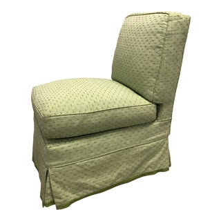 Billy Baldwin Style Slipper Chair For Sale