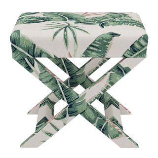 X Bench in Banana Palm For Sale