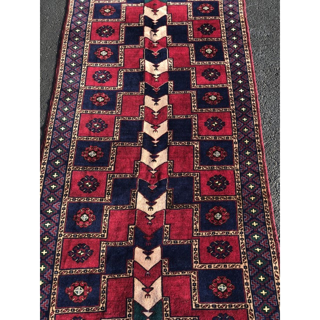 """5'1""""x12' 70yr Old Vintage Kurdish Wide Runner Look No Further, we have the rug your are looking for. This is one of about..."""