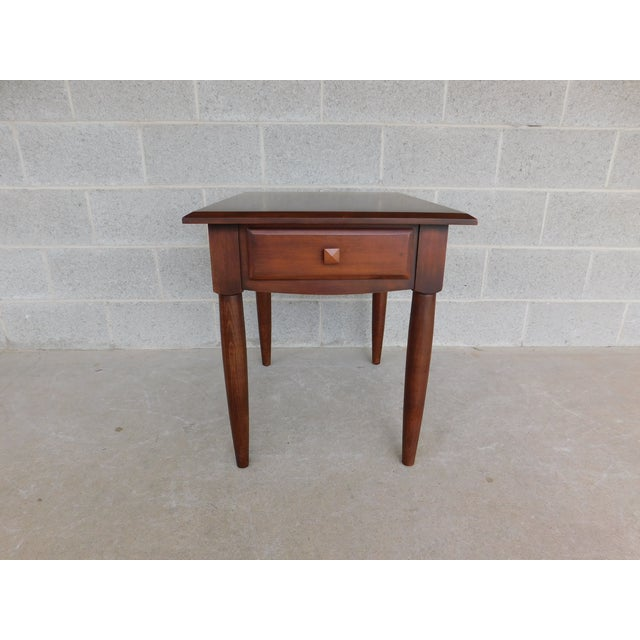 Features Quality Solid Construction, 1 Dovetailed Drawers Very Good Condition, original finish, - see all photos - may...