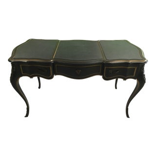 Drexel Ebonized French Desk For Sale