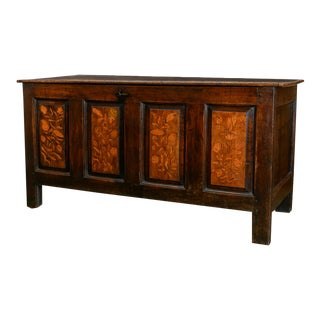 Yorkshire Coffer Chest, C.1650 For Sale