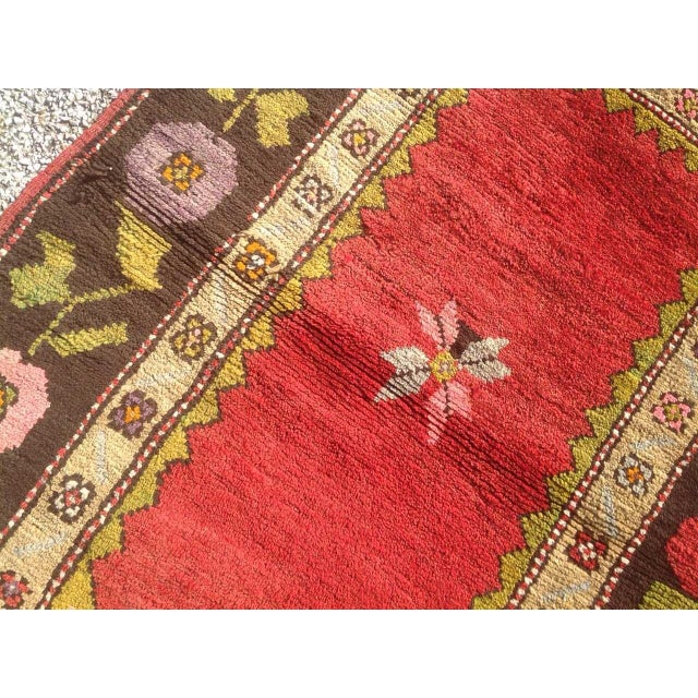 "Vintage Anatolian Rug - 2'5"" x 3'3"" For Sale - Image 5 of 6"