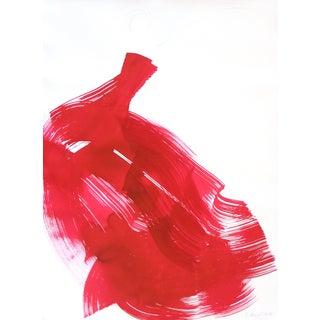 """The Red Cloth 83"" Original Artwork by Bettina Mauel For Sale"