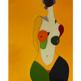 """Bill Tansey """" Bella Donna"""" Abstract Figure Oil Painting on Canvas For Sale"""