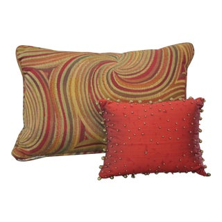 Tapestry Style Pillows - Set of 2
