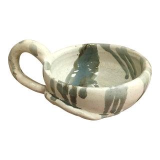 Handmade Ceramic Bowl with Handle