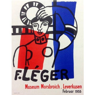 """1959 """"Fernand Legers 1955"""" Fernand Leger 35, Lithograph Art in Posters For Sale"""