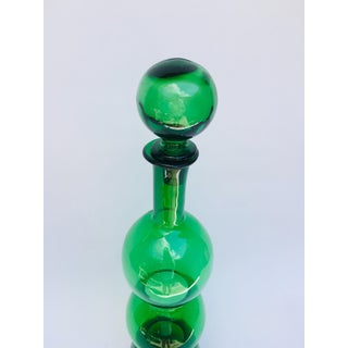 Mid Century Modern Kelly Green Italian Decanter by Guildcraft Preview